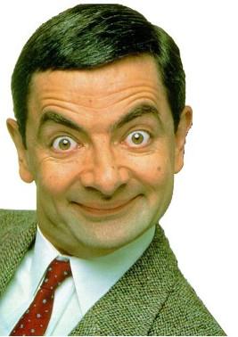MR Bean sonriendo