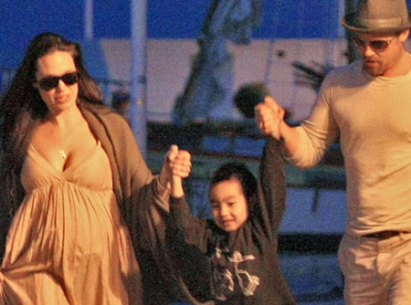 Angelina Jolie Brad Pitt y Madox