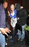 Christina Aguilera borracha
