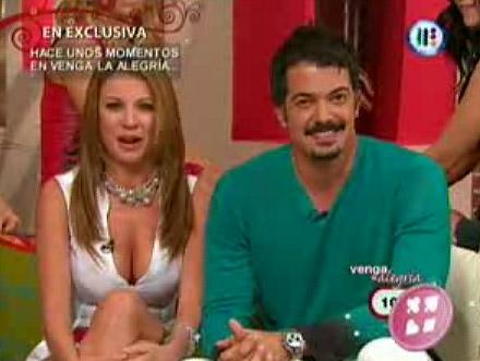 Ingrid Coronado y Fernando del Solar juntos