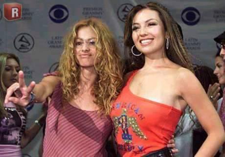 Paulina y Thalía juntas