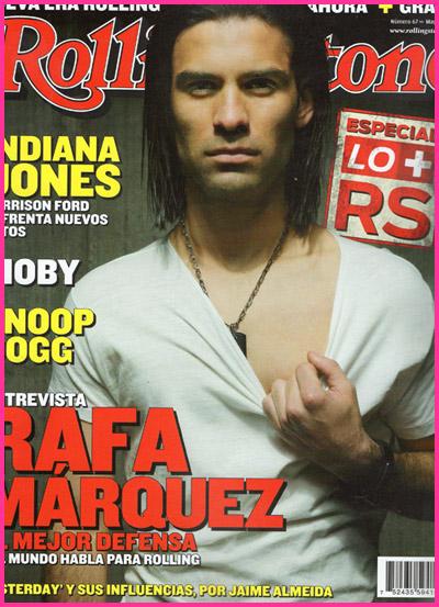 Rafa Marquez en portada rollingstone