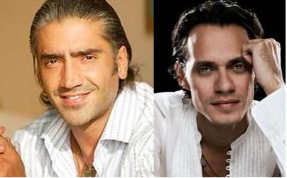 Alejandro Fernandez y Marc Anthony