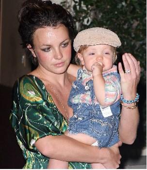 Britney Spears y su hijo