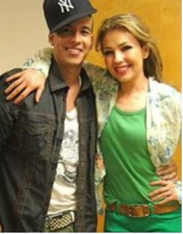Daddy Yankee y Thalia