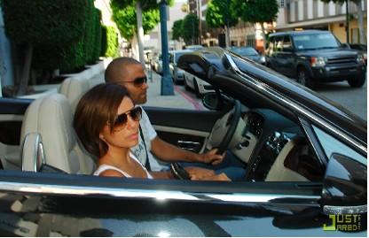Eva Longoria y Tony Parker en Francia