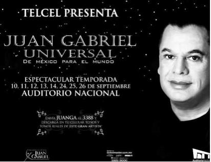 Juan Gabriel en el Auditorio Nacional