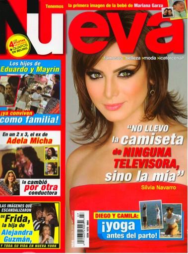 silvia navarro en la revista nueva tv y espect culos On revista tv y espectaculos