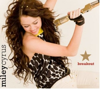 Portada de Breakout de Miley cyrus