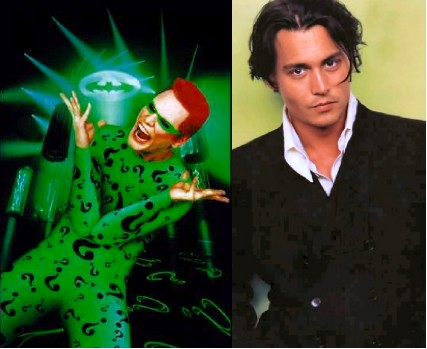 Johnny deep como el acertijo