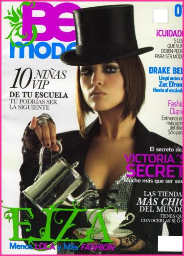 Eiza Gonzalez en revista Be Model portada