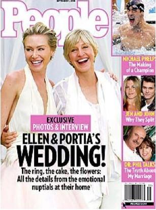 Ellen y Portia en People