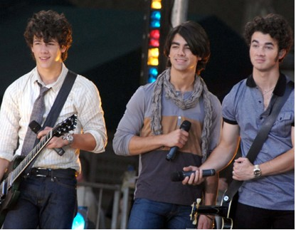 Jonas Brothers en Good Morning america