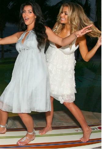 Kim y Carmen Electra en Mexico