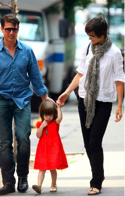 tom Cruise y su familia
