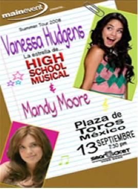 Vanessa Hudgens en Mexico