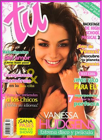 Vanessa Hudgens en la revista tu
