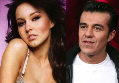 Adrian Uribe y Angelique Boyer
