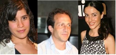 Cecilia Suarez, Ximena ayala y Daniel gimenez