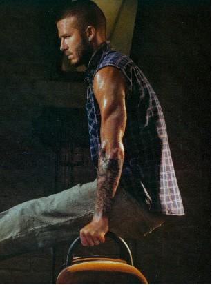 David Beckham calendario