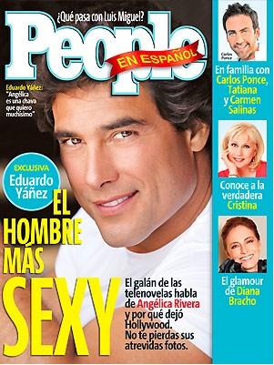 Eduardo Yañez en la Revista people