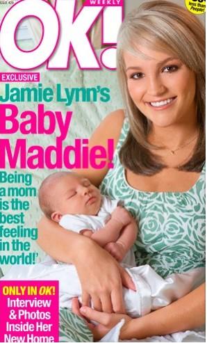 Jamie Lynn con su hija