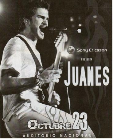 Juanes en México