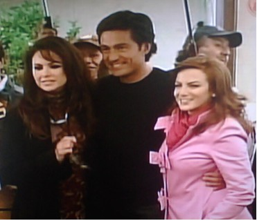 Lucero, Fernando Colunga y Silvia Navarro