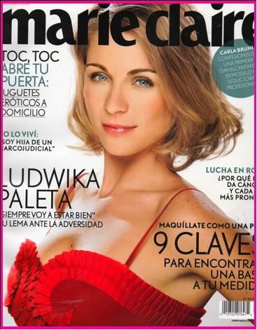 Ludwika Paleta en revista Marie Claire