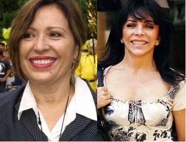 Maria Rojo y Verónica Castro