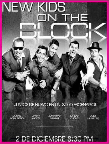 New kids on the block en m xico tv y espect culos for Chismes del espectaculo en mexico