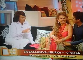 Niurka en TV Azteca