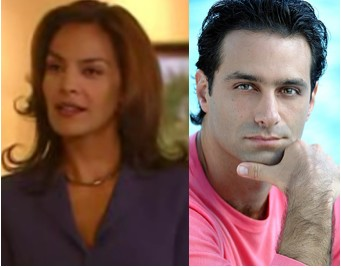 Omar Germenos y Gloria Peralta