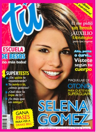 Selena Gomez en Revista Tú