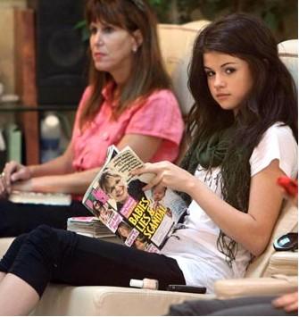 Selena Gomez en spa