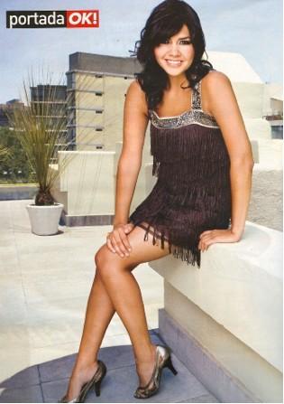 Yuridia en revista OK Mexico