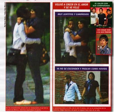 Yuridia y Mario domm en la revista TV Notas