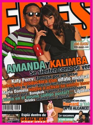 Kalimba y Amanda en Revista ERES