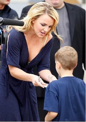 Britney Spears en Escuela de Nueva York