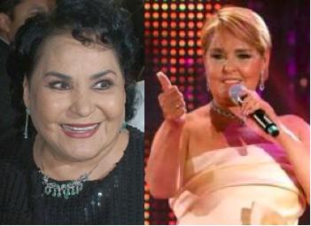 Carmen Salinas sugiere una buena bombeada a Lupita D´alessio para que se le quite el mal humor