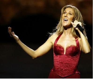Celine Dion en México