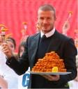 David Beckham recomienda pesacdo para niños