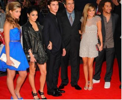 Alfombra roja de High School Musical 3 en Reino Unido