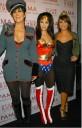 Kim Kardashian Mujer Maravilla en Halloween
