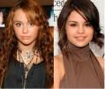 Miley Cyrus y Selena Gomez en Fashion Week