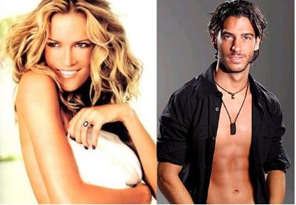 Rebeca de Alba y Erick Elias de Romance