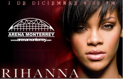 Rihanna en Monterrey