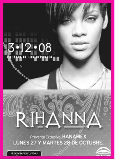 Rihanna en el Palacio de los Deportes