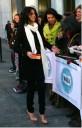 Selena Gomez con sus fans