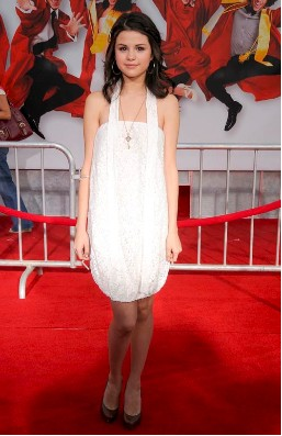 Selena Gomez en Premier de High School Musical 3: Senior Year